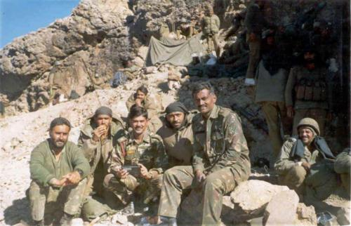 Captain Akhilesh Saxena At Real War Front Of Kargil War (1)