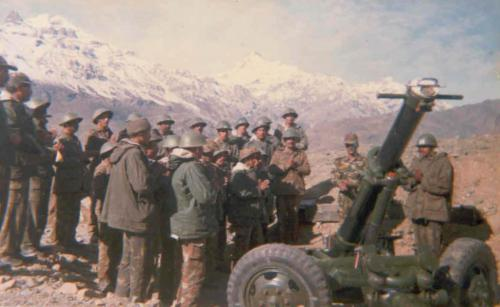 Captain Akhilesh Saxena At Real War Front Of Kargil War (10)