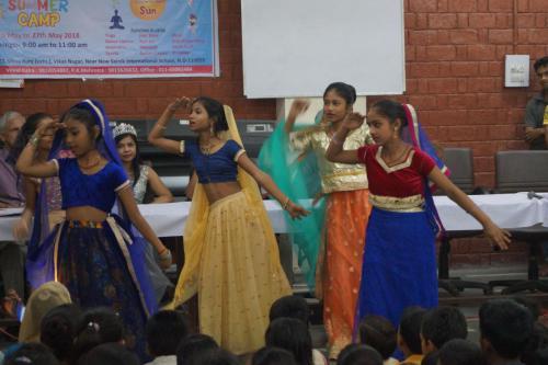Workshop at Saksham bharti Women Day Celebration  Inspiring Mantra