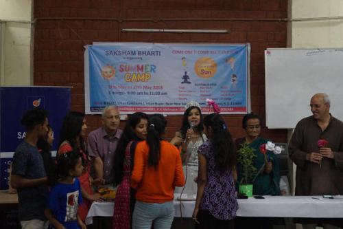 DSC07187-minWorkshop at Saksham bharti Women Day Celebration  Inspiring Mantra