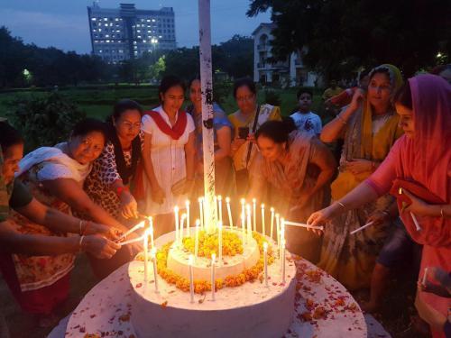 Inspiring Mantra Vijay diwas Celebration with  Veer Nari  (10)-min