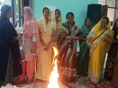 Inspiring Mantra Vijay diwas Celebration with  Veer Nari  (3)-min