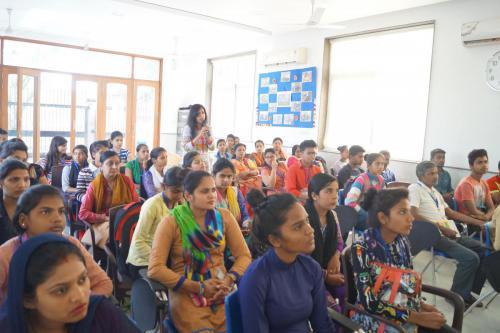 Workshop on Women Security  Inspiring Mantra (1)